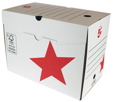 5Star Archiefdoos ft 25 x 33 x 20 cm (h x l x b)