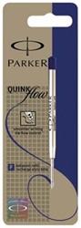 Parker Vullingen voor balpen Quinkflow fijne punt 0,8 mm, blauw (op blister)