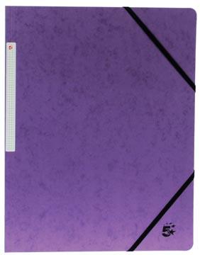 5Star Elastomap zonder kleppen paars