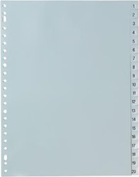 5Star  tabbladen set 1-20, ft A4
