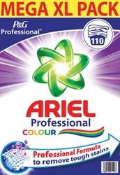 Ariel waspoeder, voor gekleurde was, pak van 110 wasbeurten