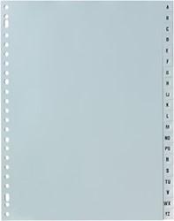 Tabbladen alfabet met 20 tabs en 23- gaatsperforatie