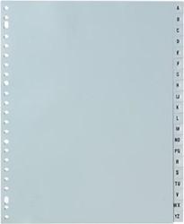 Tabbladen alfabet A4 extra breed met 23-gaatsperforatie