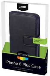 Grixx Optimum case voor Apple iPhone 6 Plus, zwart