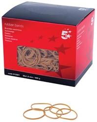 5 Star elastieken 1,5 mm x 50 mm, doos van 500 g