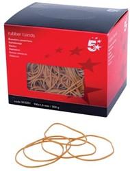 5 Star elastieken 1,5 mm x 100 mm, doos van 500 g