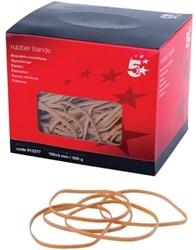 5 Star elastieken 3 mm x 100 mm, doos van 500 g