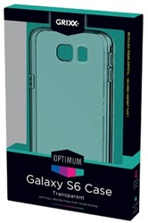 Grixx Optimum case voor Samsung Galaxy S6, transparant