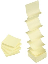 5Star Post-It  Z-Notes 76x76mm geel
