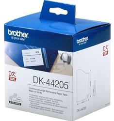 Brother label DK44205 wit verwijderbaar 62mmX30m