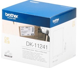 Brother DK-11241 labels (102 x 152 mm)