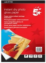 5Star Glossy A4 fotopapier  175 gram pak van 50 blad