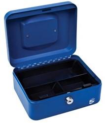 5Star Geldkoffer ft 20 x 9 x 16 cm, blauw
