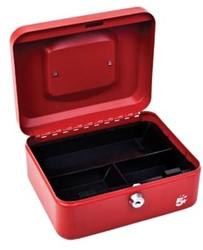 5Star Geldkoffer ft 20 x 9 x 16 cm, rood
