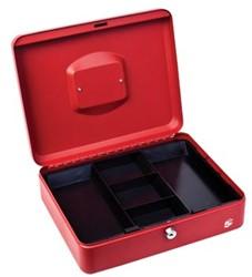 5Star Geldkoffer ft 30 x 9 x 24 cm, rood