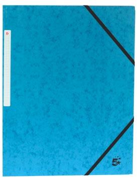 5Star Elastomap met kleppen blauw