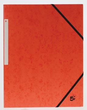 5Star Elastomap met kleppen rood