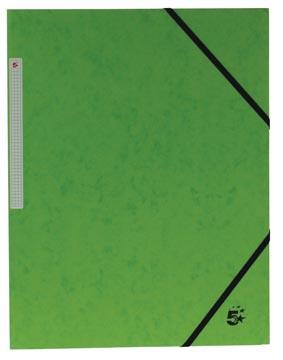 5Star Elastomap met kleppen groen