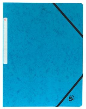 5Star Elastomap zonder kleppen blauw