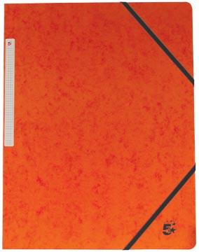 5Star Elastomap zonder kleppen oranje