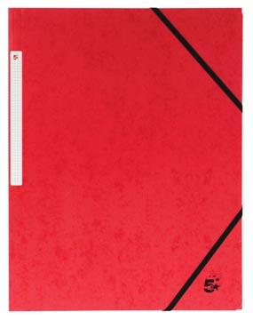 5Star Elastomap zonder kleppen rood