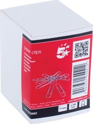 5Star paperclip 75mm rond ds/1000 stuks