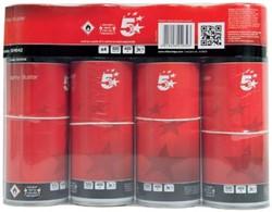 5 Star HFC-vrije persluchtreiniger, spuitbus van 400 ml, pak van 4 stuks