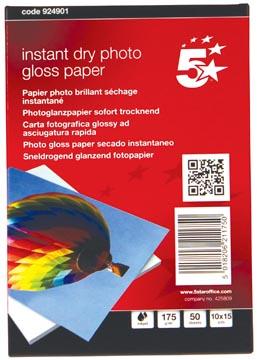 5Star Glossy fotopapier 175 gram pak van 50 blad