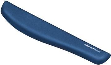 Fellowes PlushTouch toetsenbordpolssteun blauw