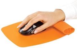 Fellowes Muismat Wrist Rocker oranje