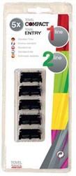 Meto inktrol voor prijstangen voor Tovel Entry en Compact, 1 en 2 lijnen 5 stuks