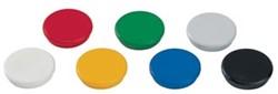 Dahle magneten diameter 24 mm, geassorteerde kleuren