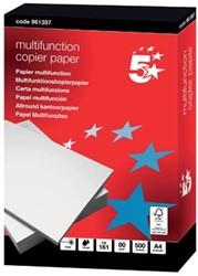 Kopieerpapier A4 80 gram 5Star multifunctional pak van 500 vel
