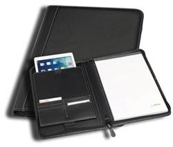 Schrijfmap A4 iPad Genève zwart