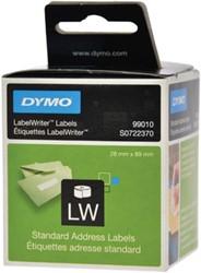 Dymo 99010 etiketten standaard adres 89 x 28 mm