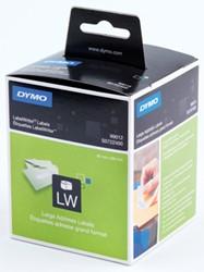 Dymo 99012 etiketten groot adres 89 x 36 mm
