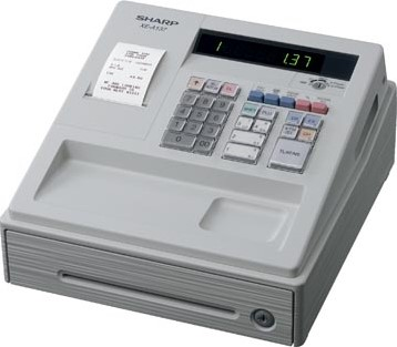 Sharp thermische kasregister XE-A137Wh wit