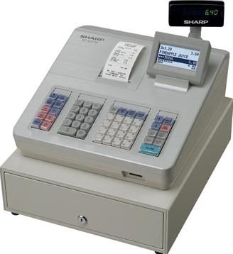 Sharp thermische kasregister XE-A207w wit