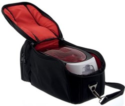 Badgy reistas voor Badgy printer 100 en 200, zwart/rood