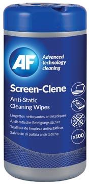 AF Screen Clene schermreinigingsdoekjes, pak van 100 doekjes