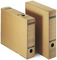 Archiefdoos Leitz 6084 A4 rug 70mm bruin