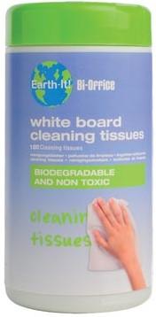 Bisilque Reinigingsdoekjes Earth-It whiteboard ds/100