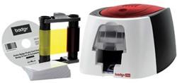 Badgeprinter Badgy 100 voor het snel printen van badges
