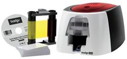 Badgeprinter Badgy 200 voo rhet snel printen van badges on demand