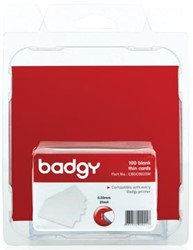 Badges 86x54mm voor Badgy 100 en 200