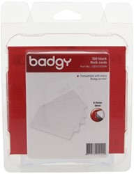 Badgy 100 blanco dikke kaarten (0,76 mm) voor Badgy 100 o f Badgy 200