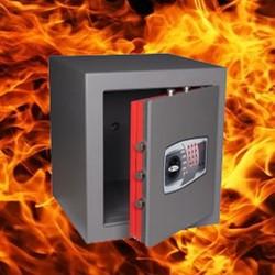 Brandwerende kluis