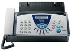Brother thermische fax T104 met telefoonhoorn