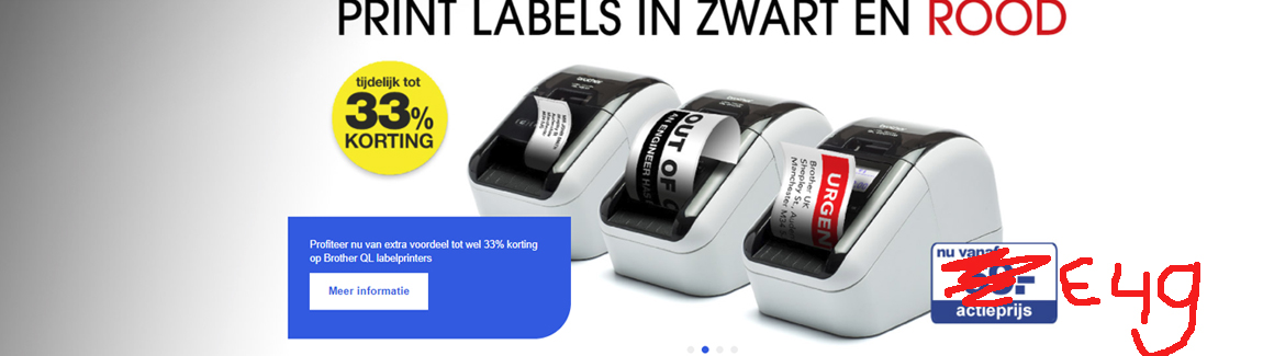 Brother labelprinter