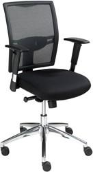 Comfortabele bureaustoel ProLine Go met netbespannen rugleuning